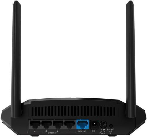 NETGEAR AC1000 DualBand WiFi 5 Router Black Wifi