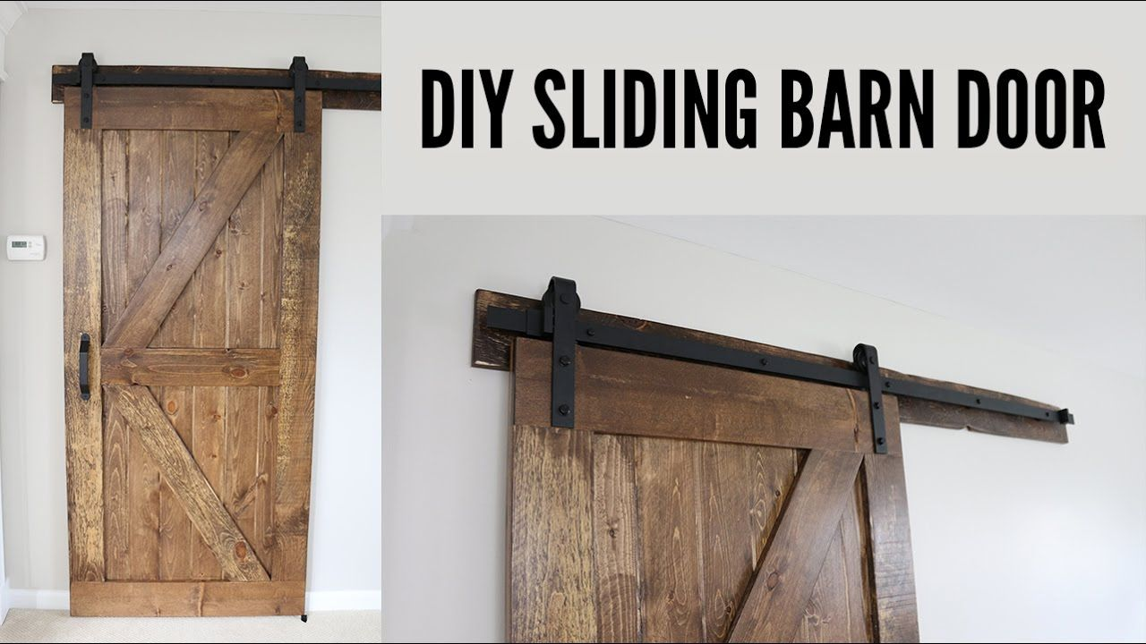 Today I designed built and installed a custom barn door in my