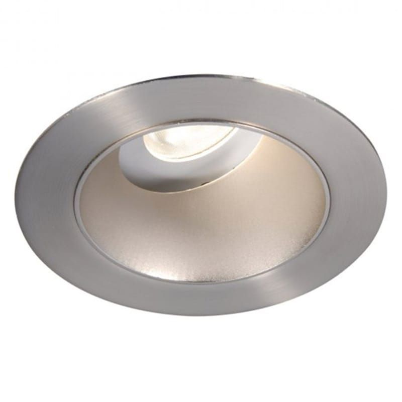 "WAC Lighting HR3LEDT318PS830BN Brushed Nickel / 3000K / 85CRI Tesla PRO 3.5"" LED Adjustable Trim with Spot Beam Spread"