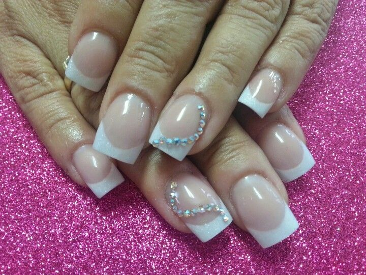 perfect french nail design