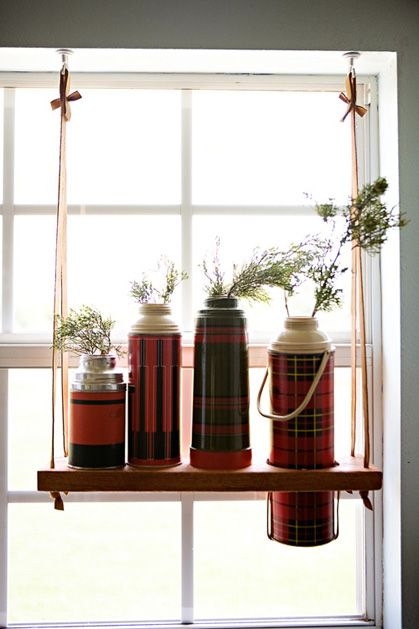 thermos hanger- so cute! #home #craft #plants