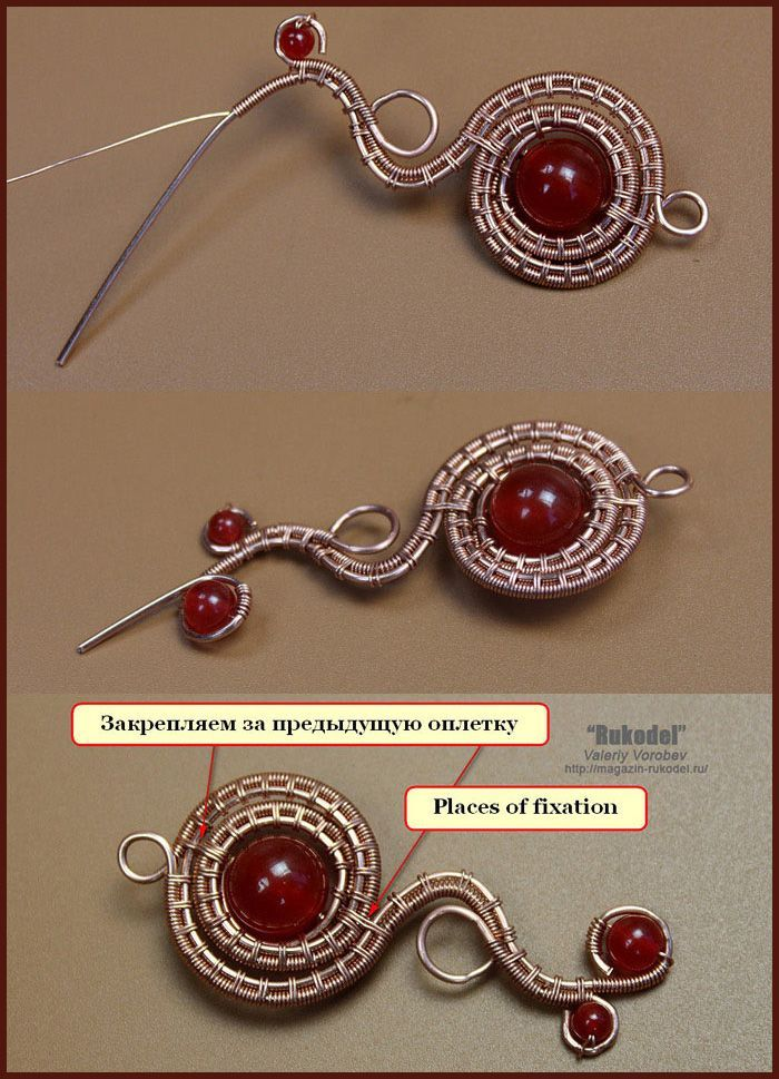 Photo of wire wrap tutorials, wire wrap, wire wrapped, wire jewelry, handmade, craft, wir…