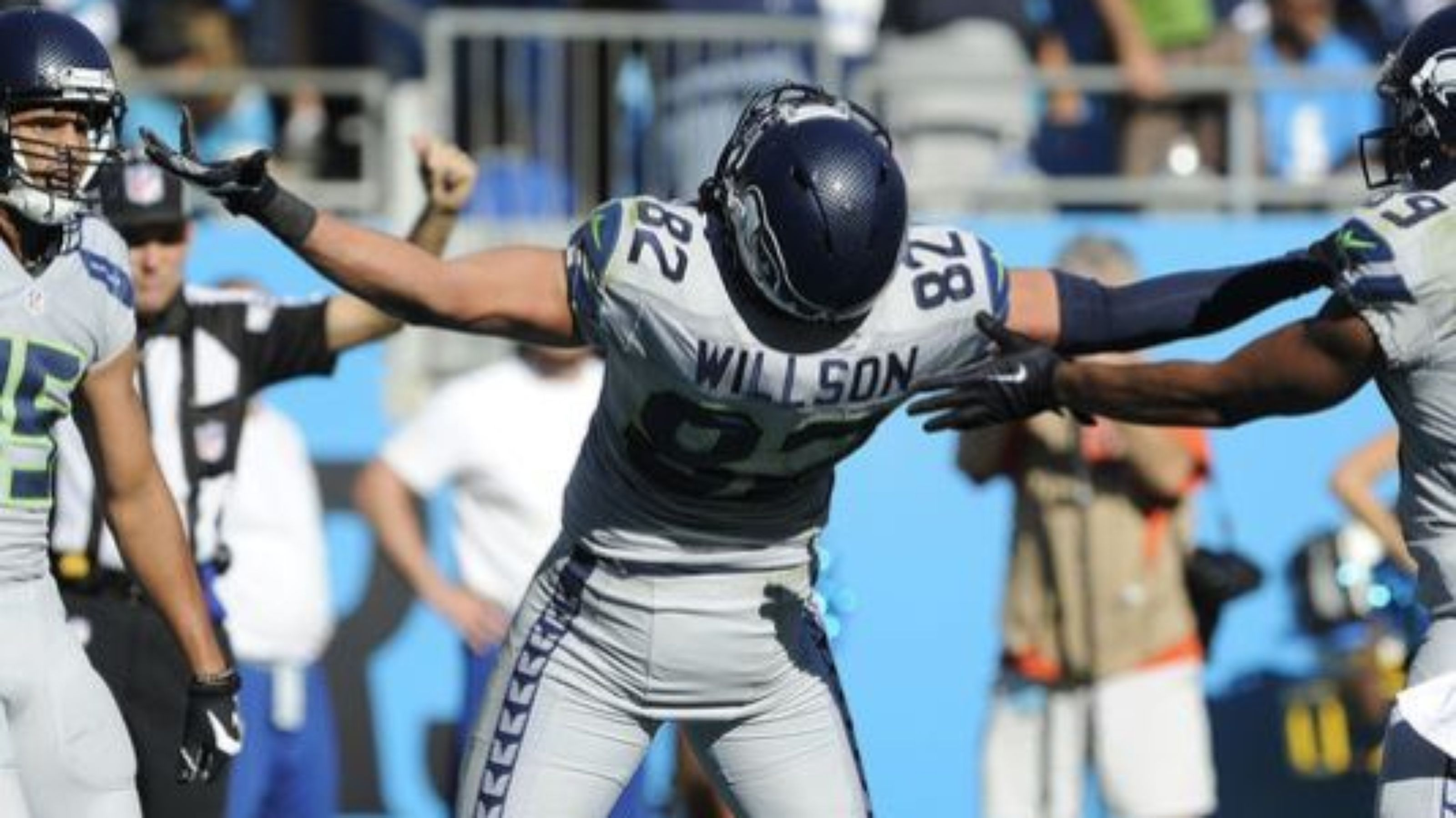 Seahawks Russell Wilson to Luke Willson touch down to win over the ...