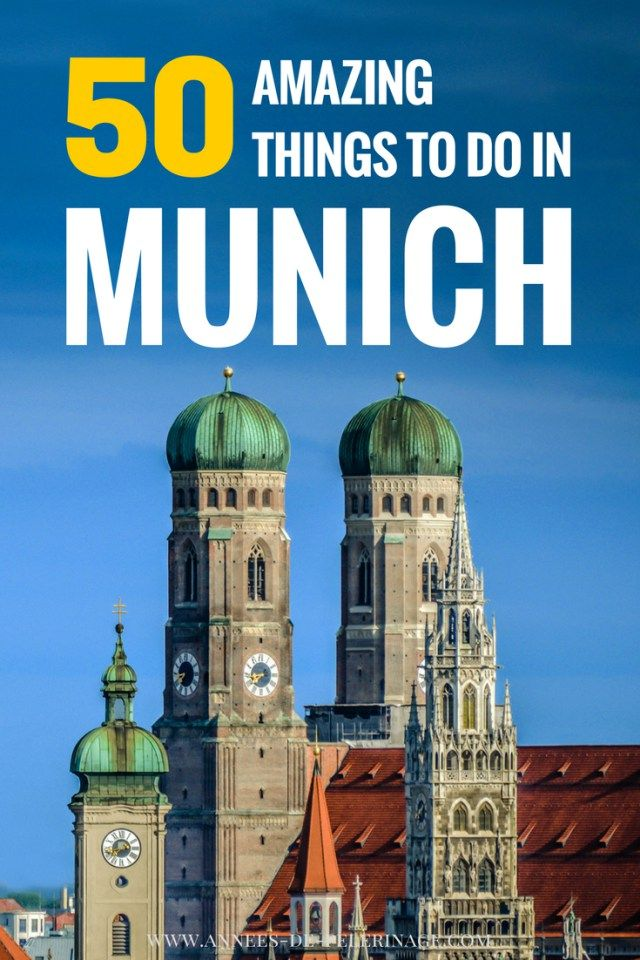 Munich, a massive list of 50 amazing things to do in Munich. Bavaria's capital is truly spectacular and this article features the best tourist attractions in Munich, Germany. Click to learn what to see in Munich, München