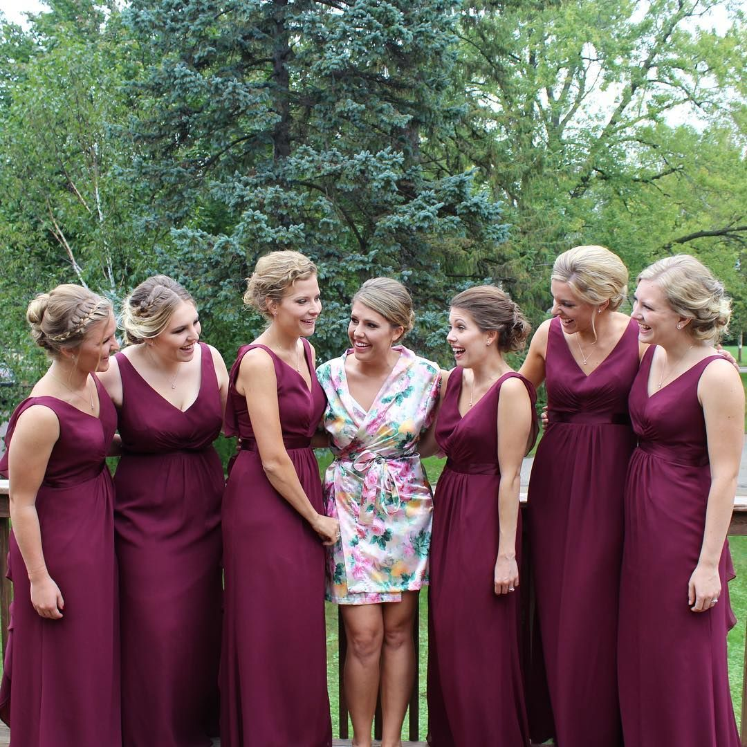 Beautiful burgundy bridesmaidss in v neck long wine davids bridal beautiful burgundy bridesmaidss in v neck long wine davids bridal bridesmaid dresses photo sarahelizabethiverson ombrellifo Images