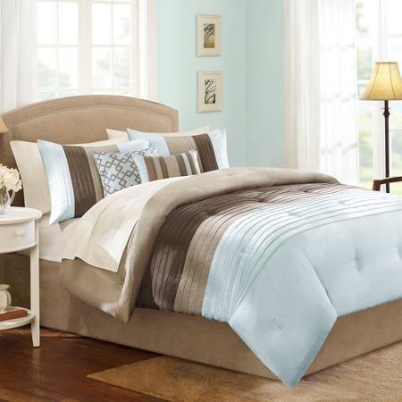 better homes and gardens comforter sets. Better Homes And Gardens Pleated 5-Piece Bedding Comforter Set - Walmart.com Sets E