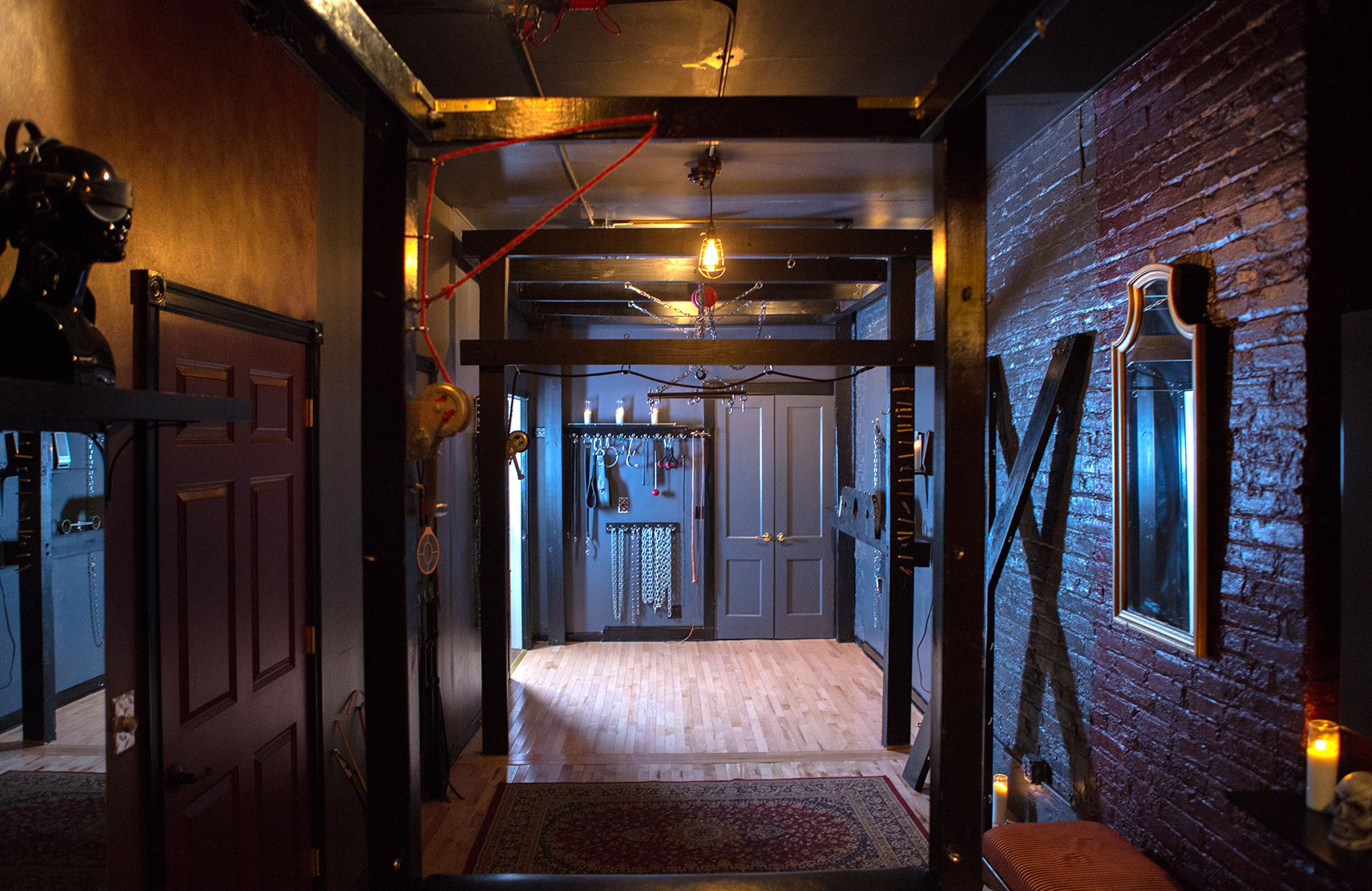 Bondage rooms