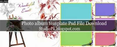 Wedding Album Design Templates Psd Free Download | Album design