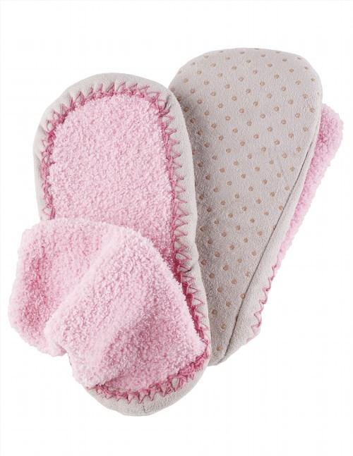 9.98$  Watch here - http://vinii.justgood.pw/vig/item.php?t=5lki90j29403 - Comfortable Non-Confining Women's Moccasin Slipper Socks Wtih Non Skid Soles