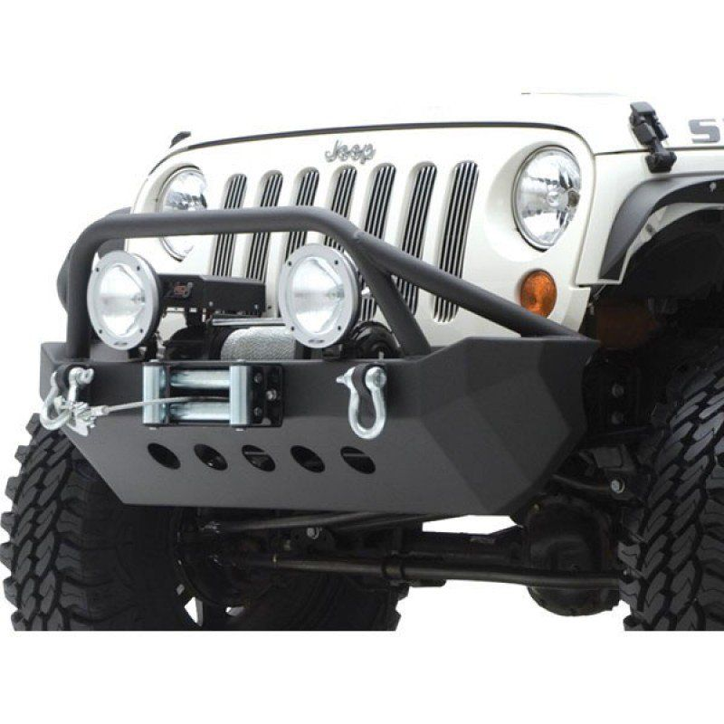 Smittybilt Xrc Front Bumper With Built In Winch Plate Textured