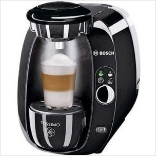 Bosch Tas2002gb Tassimo T20 Hot Beverage Machine Gloss Black On