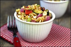 BBQ Veggie Pasta Salad