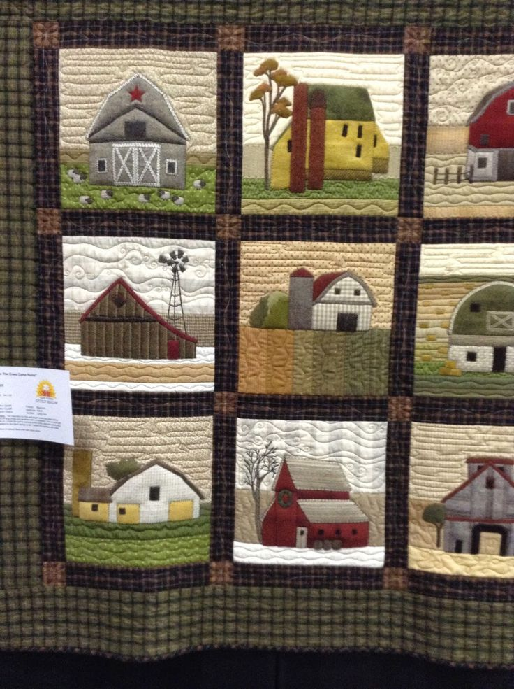 Timeless Traditions farm house and barn quilt. | Quilts ~ House ... : farm quilt patterns - Adamdwight.com