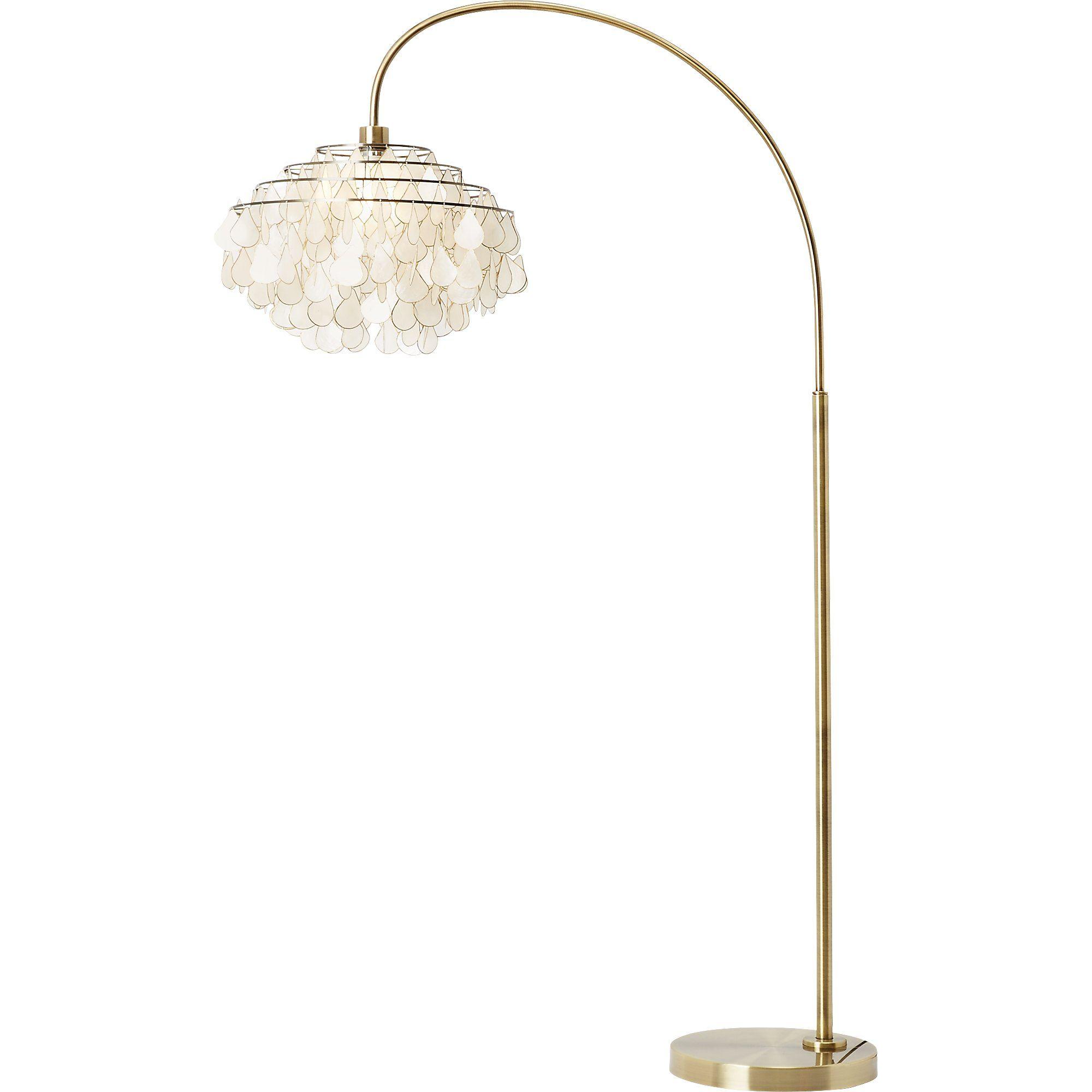 Teardrops Arc Floor Lamp Cb2 Floor Lamp Lamp Vintage Floor Lamp