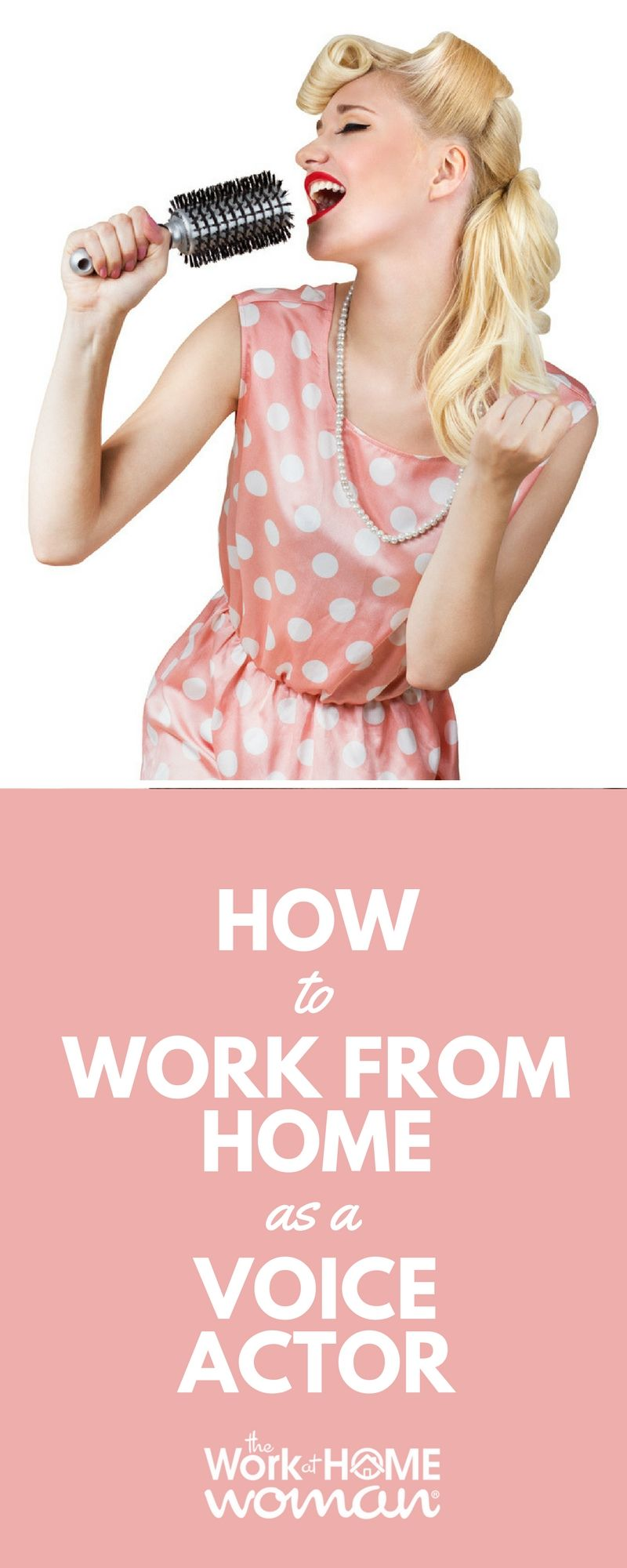 How to Work From Home as a Voice Actor Working from home