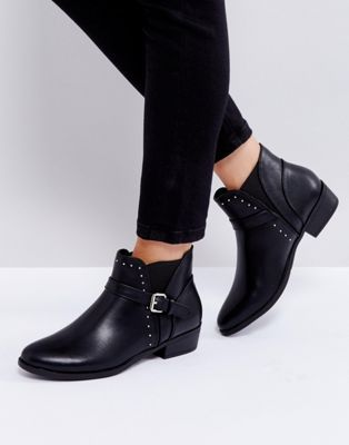 e1939519f7e Truffle Collection Flat Chelsea Boot with Buckle Trim   Fall 2018 ...