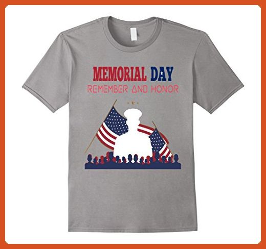 0196a77e Mens Thank you Heroes in our Memorial Day Veterans DAD T-Shirt 2XL Slate -  Relatives and family shirts (*Partner-Link)