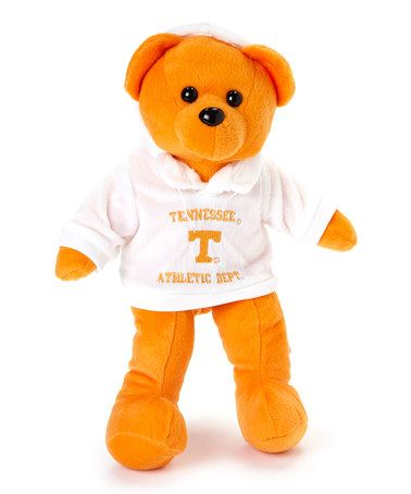Take a look at this Orange Tennessee Hoody Bear Plush Toy by T.E.I. on #zulily today!