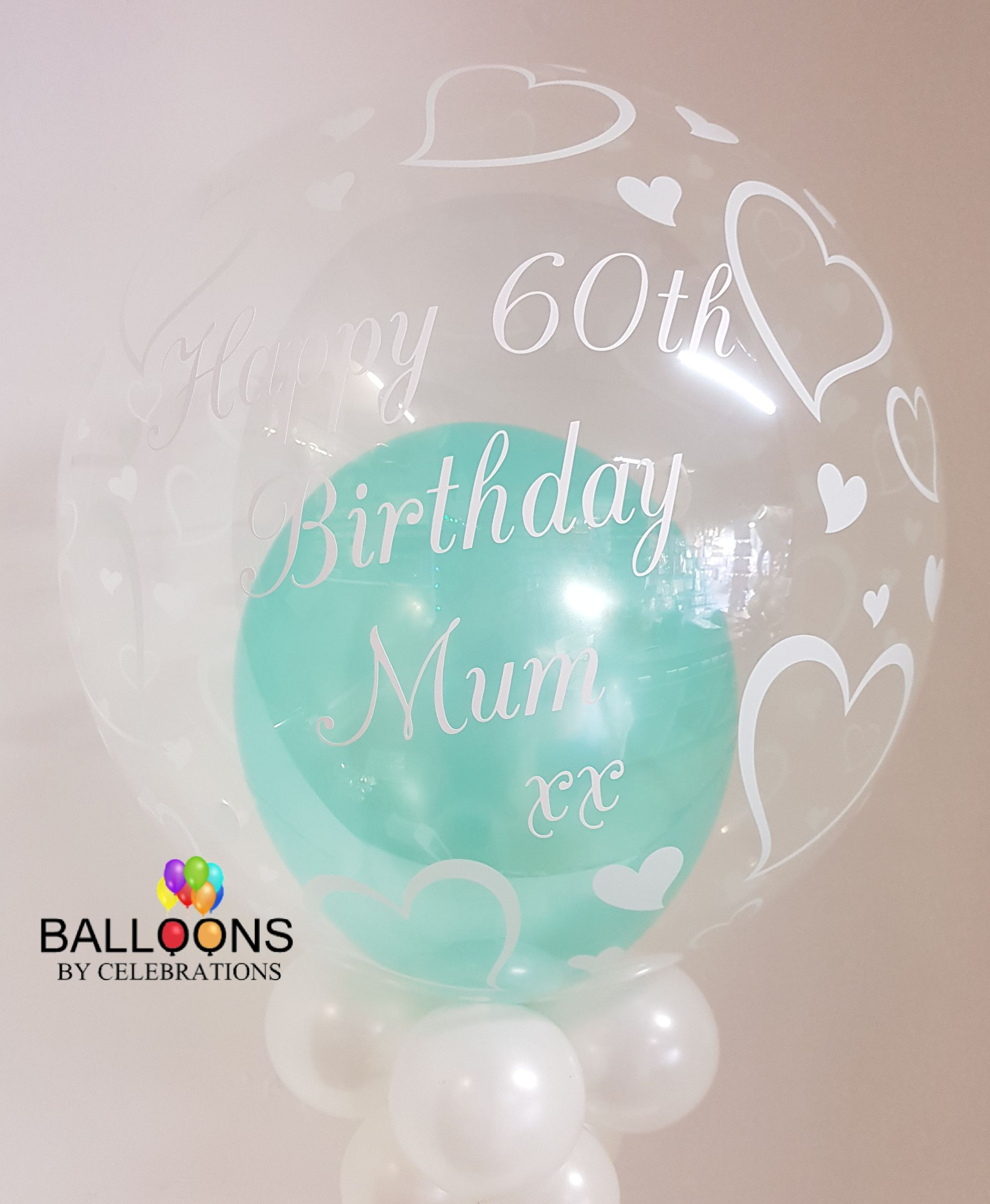 Personalised Balloons Buxton & Glossop