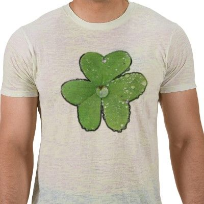 Dewy Shamrock Tee in white or almost any color!