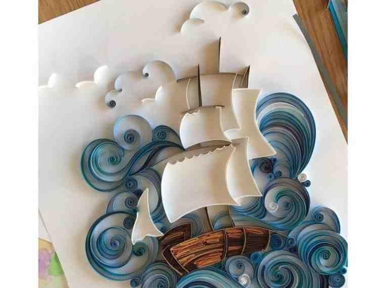 فن الرسم بالورق الملون صورة ٢٨ Quilled Paper Art Quilling Techniques Origami And Quilling