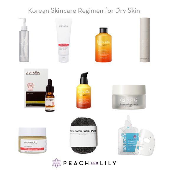 Korean Skincare Routine Kits For Dry Skin Skin Cleanser Products Korean Skincare Dry Skin Care