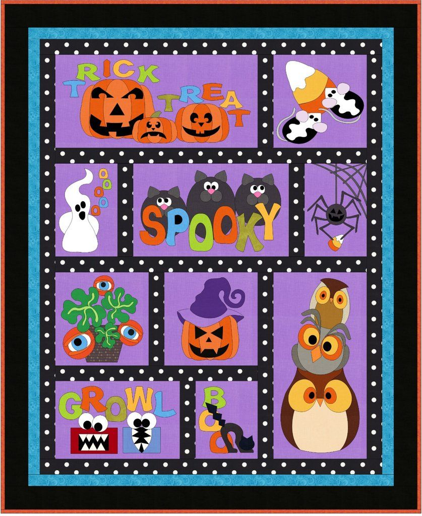BooTacular Quilt Pattern