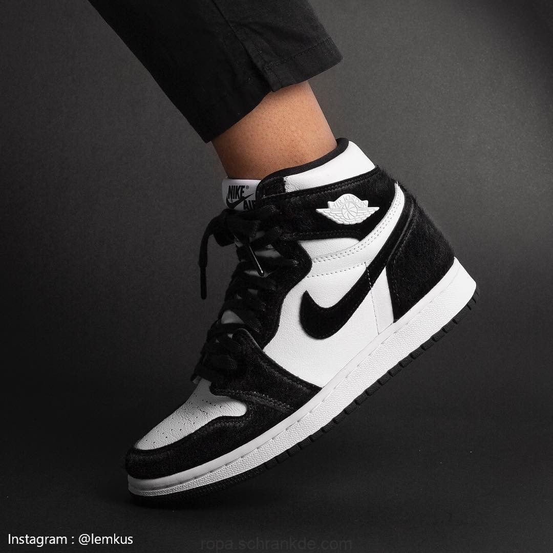 Air Jordan 1 Retro High OG Panda Twist | Jordan shoes girls ...