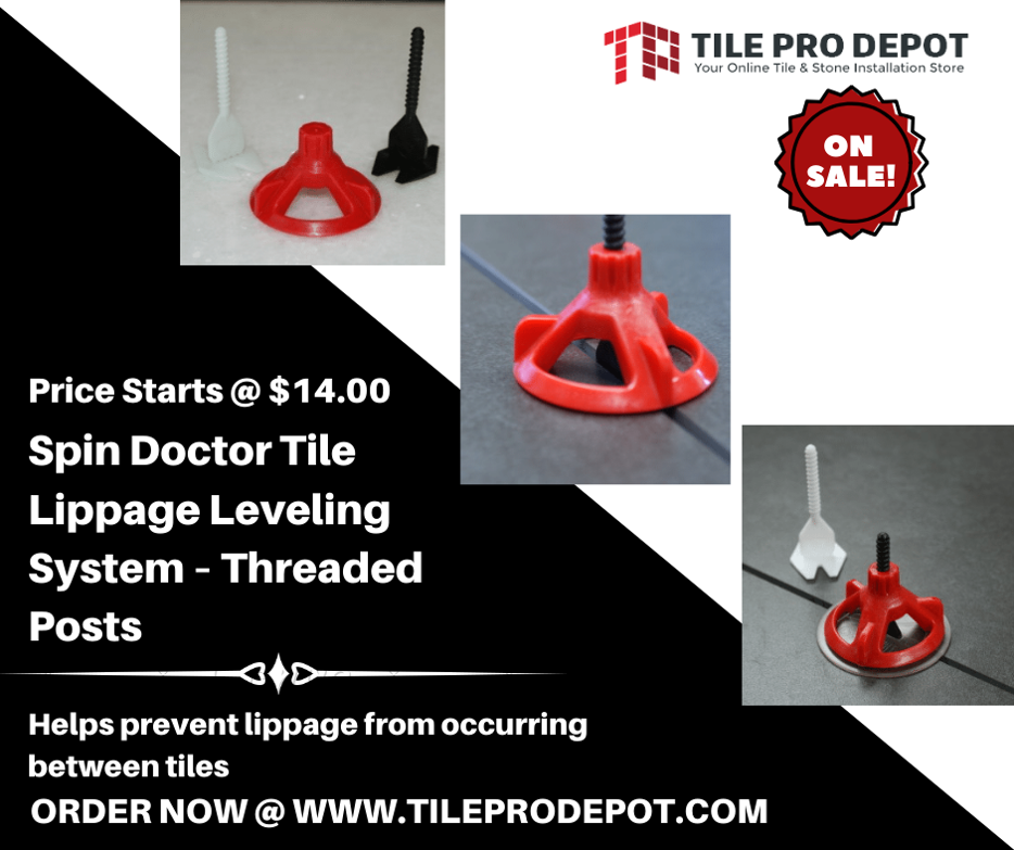 spin doctor tile lippage leveling