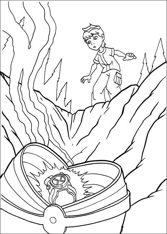 Coloriage Dessins Ben 10 52 Ben 10 Para Colorear Dibujos Dibujos Para Pintar