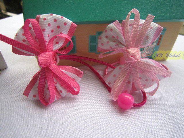 Lazos de cinta para bebe lazos variedades pinterest - Lazos con cintas ...