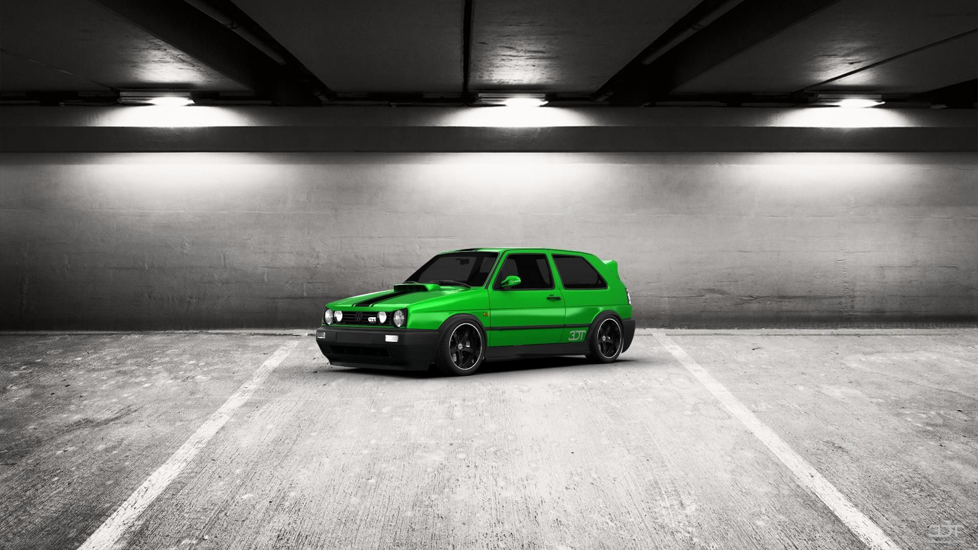 Come ti sembra il mio tuning #Volkswagen #Golf2Gti 1990 in 3DTuning #3dtuning #tuning