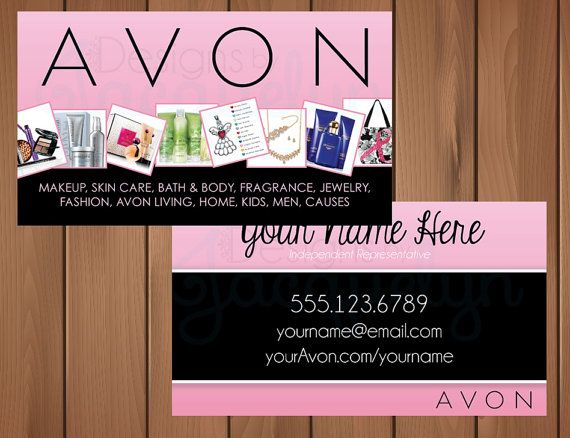 Avon representative business cards digital download pinterest avon representative business cards digital by mycrazydesigns avon reheart Choice Image