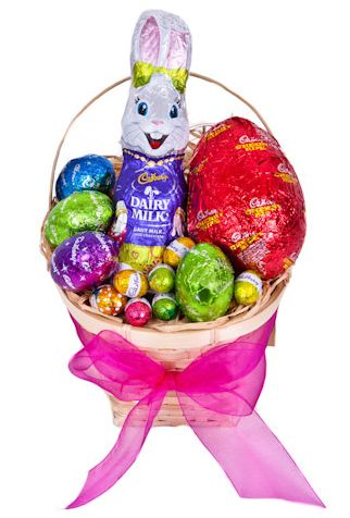 Easter treat easter hamper easter coupons gifts choclate creamy milk chocolate features in this delightful hamper the perfect easter treat 1 x cadbury milk chocolate bunny 1 x cherry ripe milk chocolate egg 4 x negle Gallery