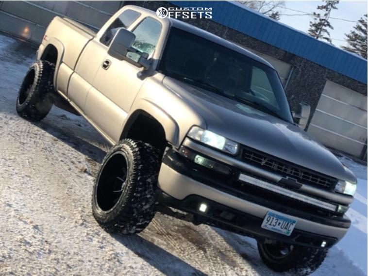 9 2000 Silverado 1500 Chevrolet Rough Country Suspension
