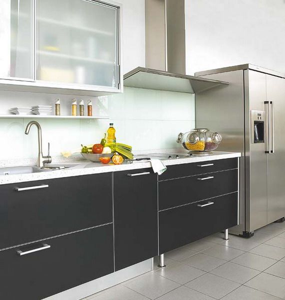 using black in kitchen without errors kitchen on kitchen ideas quirky id=29627