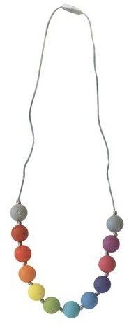 Itzy Ritzy Rainbow Teething Necklace #ad