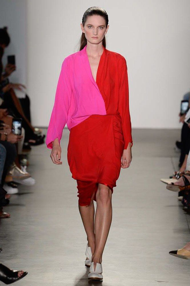 See the complete Zero + Maria Cornejo Spring 2018 Ready-to-Wear  collection.
