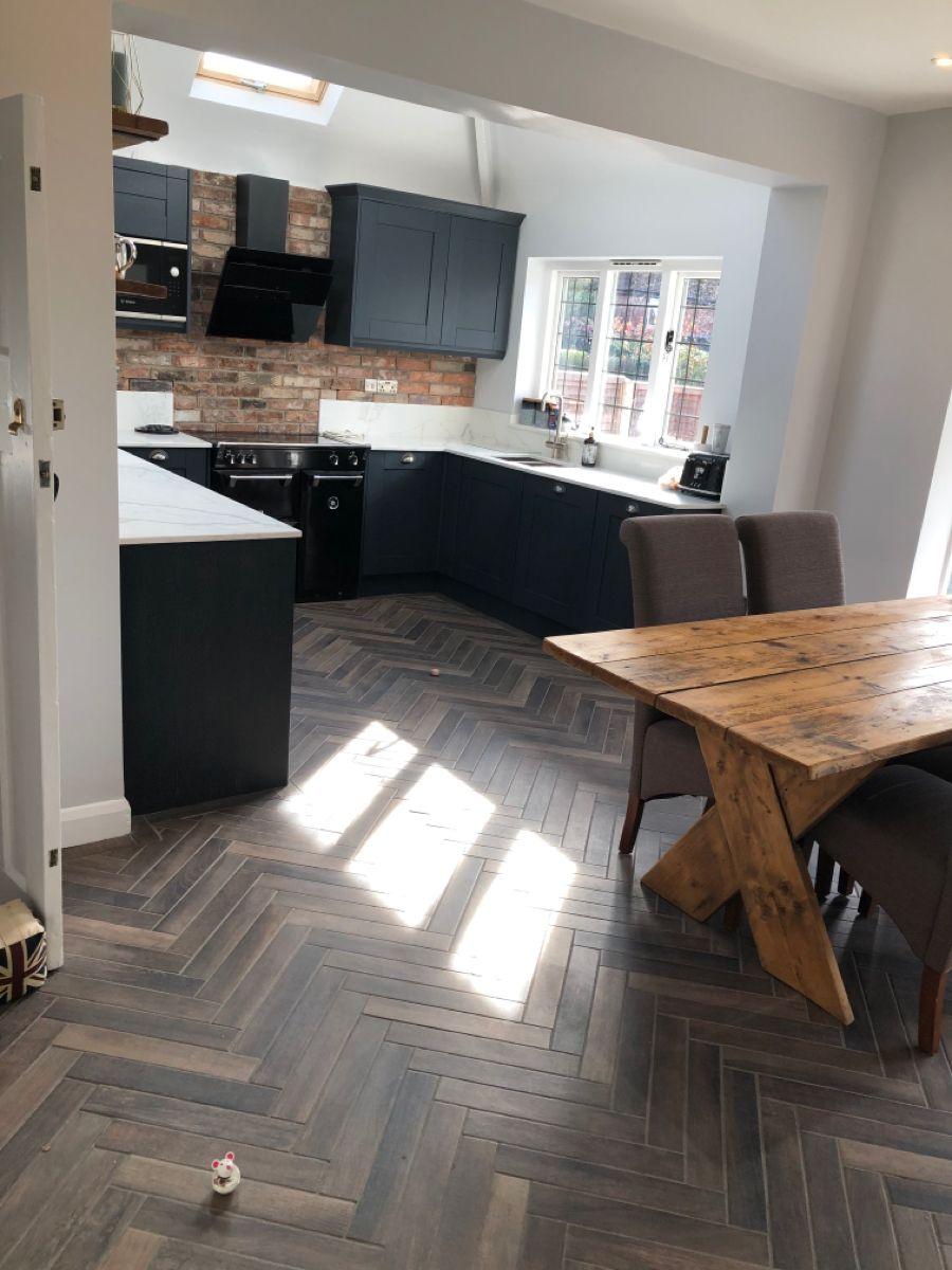 Benchmarx sherwood kitchen in 2020 Kitchen, Parquet
