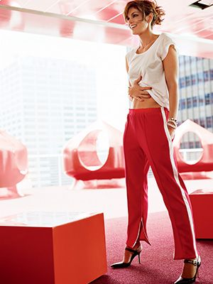 Cindy Crawford On How To Eat Well Cindy Crawford Pants