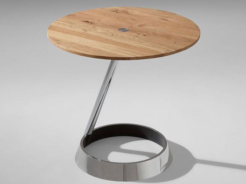 Fesselnd Details Zu Venjakob Beistelltisch 4009 Aluminium Tisch Für Wohnzimmer Esszimmer  Flur NEU