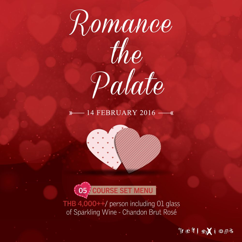 Valentine S 2016 Plaza Athenee Bangkok A Royal Meridien Hotel