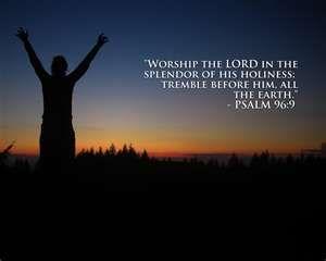 Worshiping The Lord