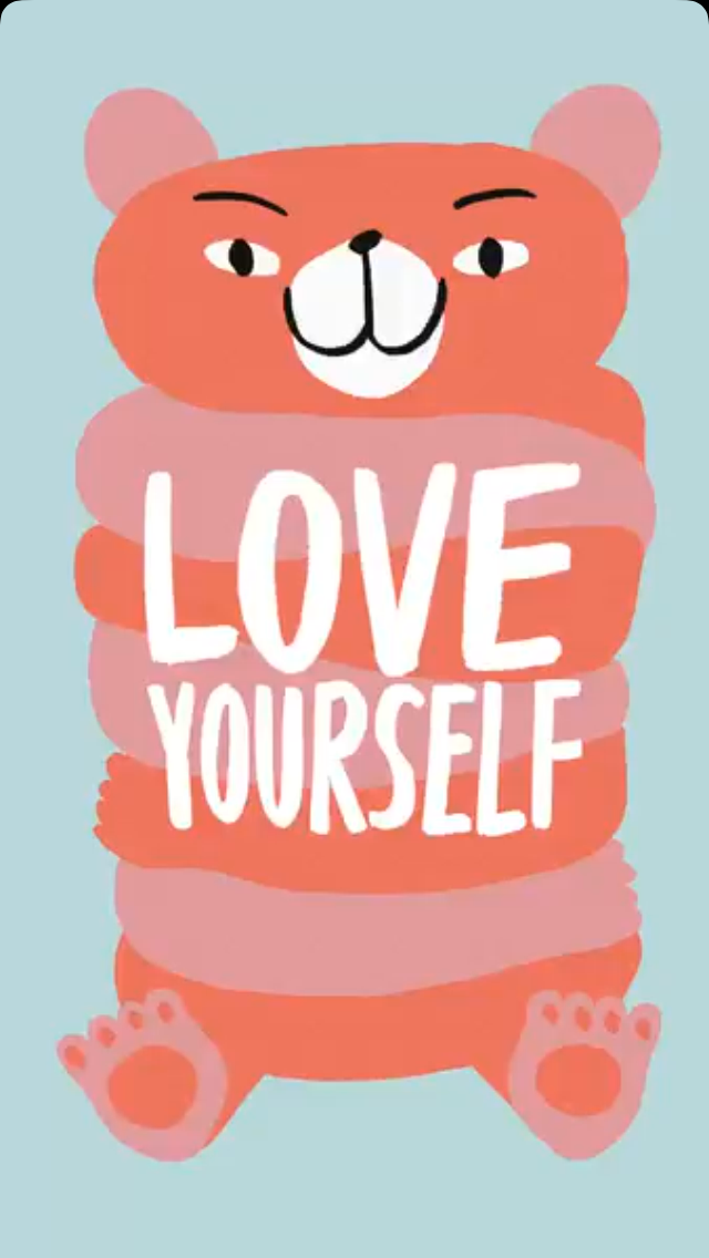 Love yourself❤️ And be strong