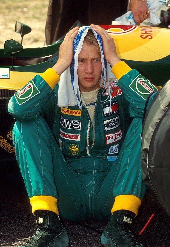 Mika Hakkinen, Lotus, 1992 German GP, Hockenheimring