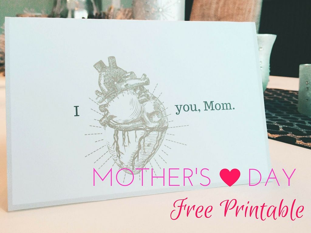 Free Mother S Day Card Printable Free Printable Mothers