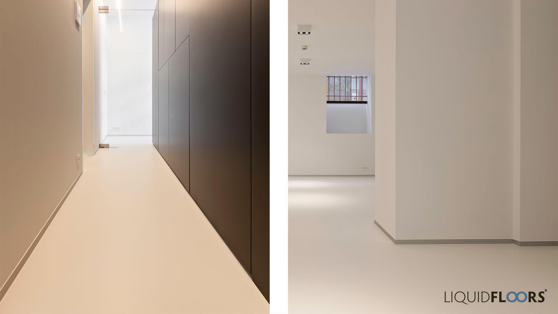 Polyurethaan vloer gang en slaapkamer gang entree bendeden boven