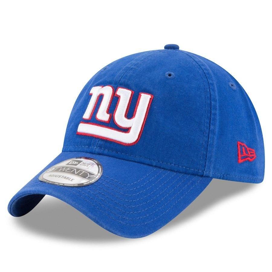 ae905dc1c6c0fd New York Giants New Era Blue Core Classic 9TWENTY Adjustable Hat ...