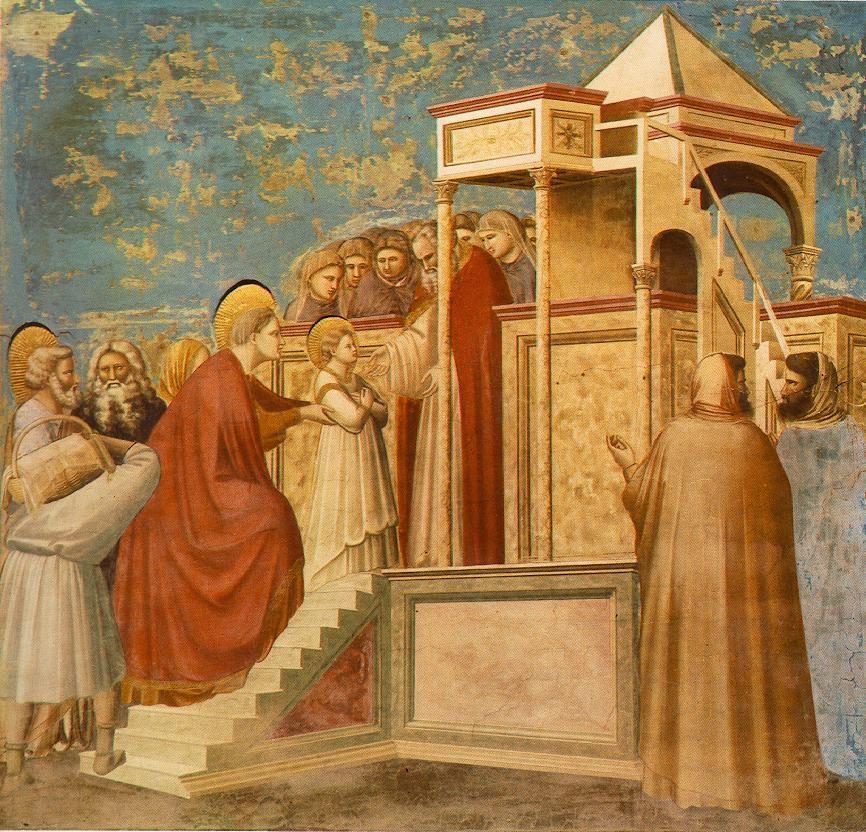 Giotto - Scrovegni - -08- - Presentation of the Virgin in the Temple - Giotto - Wikipedia