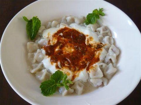 Türkische Tortelinis mit Hack-Türkische Rezepte-Manti - türkische küche rezepte